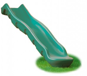 slides - 10 foot slide - playground equipment - residential play sets - backyards - Jungle Gyms Canada