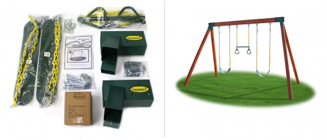playworld swing set assembly instructions