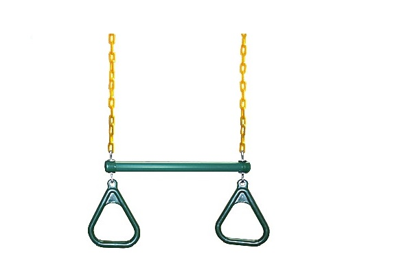 Gym Ring Trapeze Bar Combo - Jungle Gyms Canada