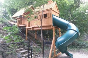 playground equipment - cedar playhouses - slides - playground installations - Jungle Gyms Canada