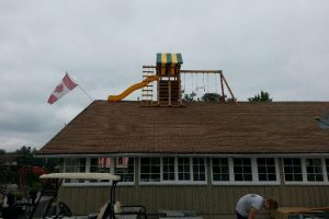 Earth Stone & Fire - Gravenhurst - playground equipment - Jungle Gyms Canada