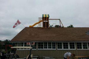 Earth Stone & Fire - Gravenhurst - playground equipment - Jungle Gyms Canada