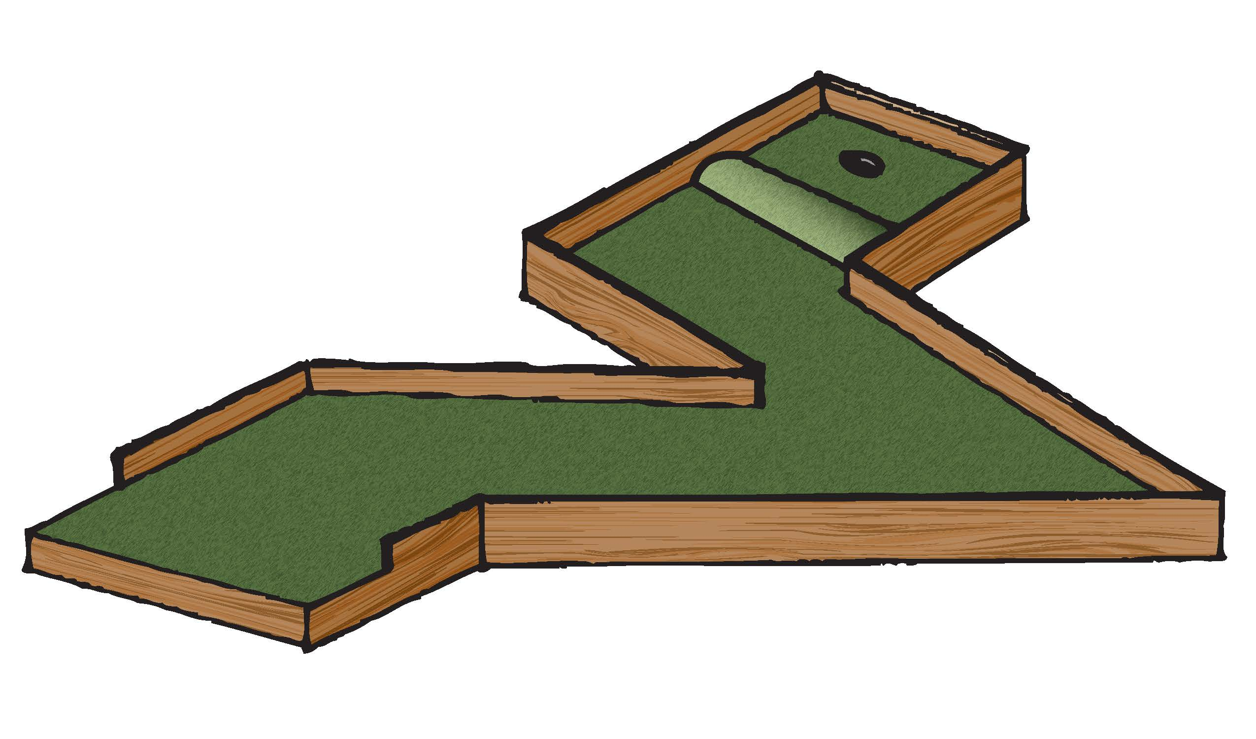 Mini Putt Portable Golf Courses Available ONTARIO ONLY