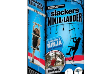 Ninja ladder - playground equipment - swing set ladder - Jungle Gyms Canada - Zip Lines Canada