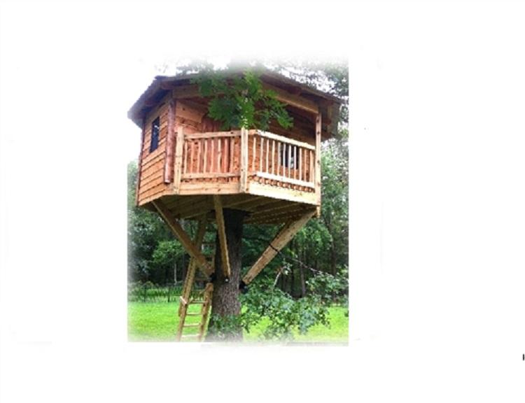 Treehouse Kits: 12 FT OCTAGON TREE HOUSE KIT
