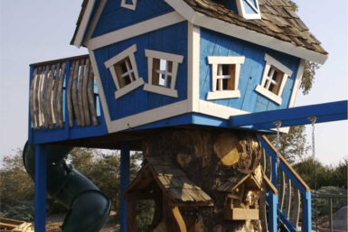 Tree House - Deluxe Tommys Turbo Terrace - Jungle Gyms Canada