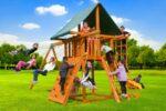 Dream Swing Set 2, backyard fun, residential play ground