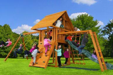 Dream Swing Set 5,backyard playground, fun outside