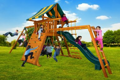 Extreme Swing Set 2, backyard play ground, residential swing set, fun