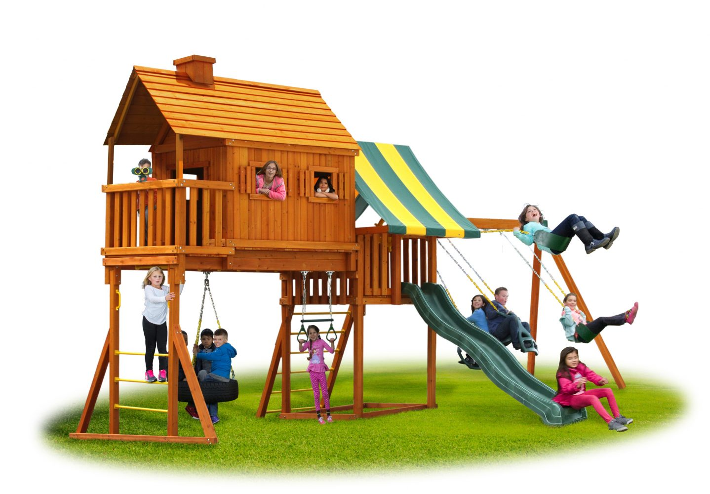 Picture of: Fantasy Tree House Cabin 1 Jungle Gyms Canada