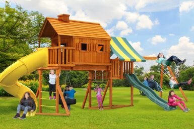 Swing Set/slides/full for the family/swings/tire swing