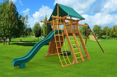 Extreme Swing Set 2 - Backyard - Jungle Gyms Canada