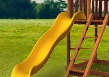 Rocket Wave Slide,playground accessories, backyard fun,children